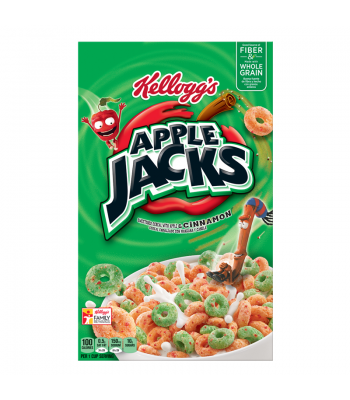 Kellogg's Apple Jacks Breakfast Cereal 17oz (481g)  Breakfast & Cereals Kellogg's