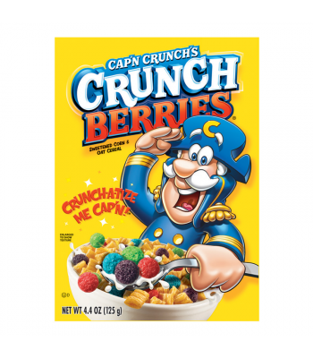 Quaker Cap'n Crunch's Crunch Berries Cereal - 13oz (370g) Food and Groceries Quaker