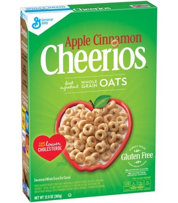 Cheerios Apple Cinnamon Cereal 11oz (311g) Food and Groceries Cheerios