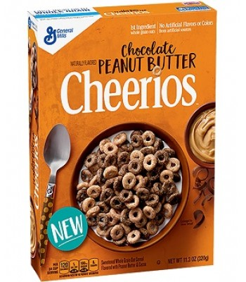 Cheerios Chocolate Peanut Butter cereal 11.3oz (320g) Food and Groceries General Mills