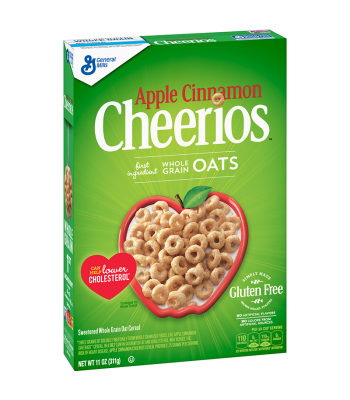 General Mills Apple Cinnamon Cheerios Cereal - 14.2oz (402g) Food and Groceries Cheerios