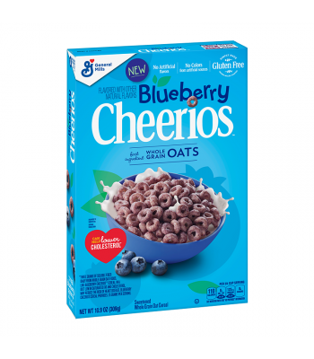 Cheerios Blueberry Cereal - 10.9oz (309g) Food and Groceries General Mills