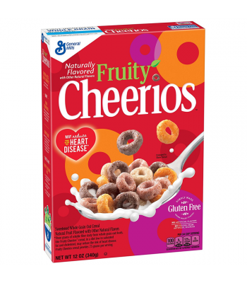 Fruity Cheerios - 10.6oz (340g) Food and Groceries Cheerios