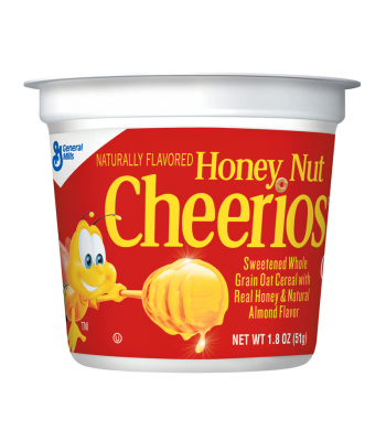 Honey Nut Cheerios Cereal Cup 1.8oz (51g) Breakfast & Cereals Cheerios
