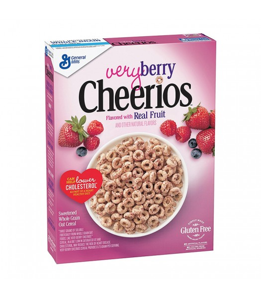 Cheerios Very Berry Cereal 10.9oz (309g) Food and Groceries General Mills