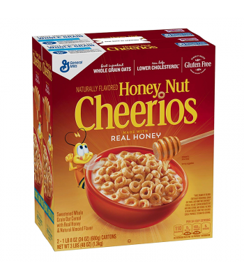 Cheerios Honey Nut HUGE Box - 48oz (1.3kg) Food and Groceries