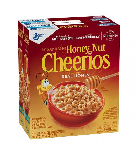 Cheerios Honey Nut HUGE Box - 48oz (1.3kg) Food and Groceries General Mills