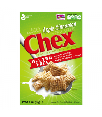 Apple Cinnamon Chex Cereal 12.4oz (351g) Breakfast & Cereals Chex