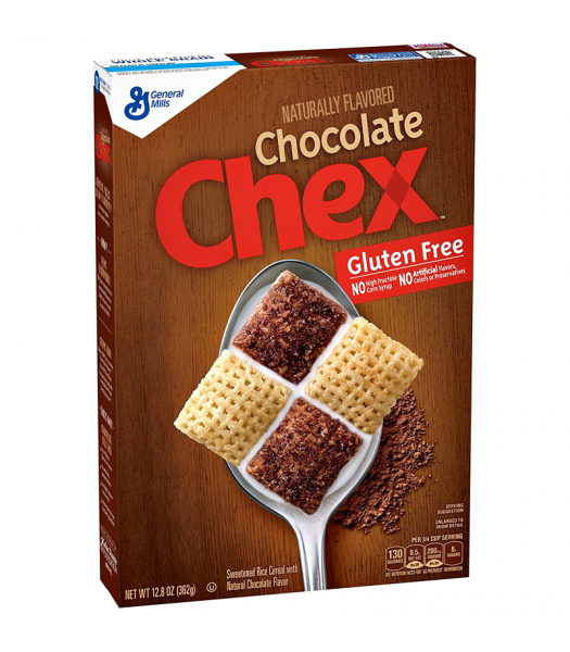 Chocolate Chex Cereal 12.8oz (362g) Food and Groceries General Mills