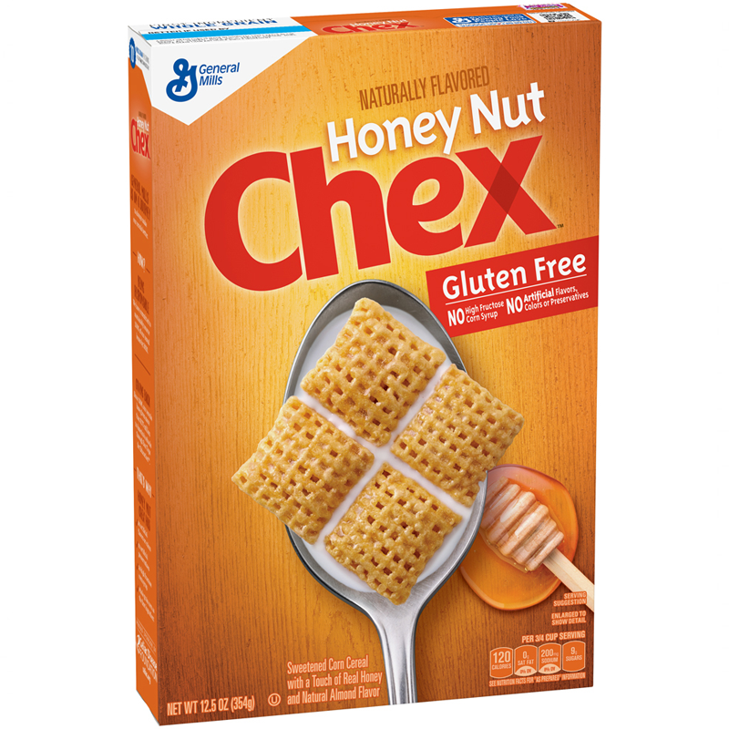 Honey Nut Chex Cereal Box 12.5oz (354g)