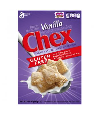 General Mills Vanilla Chex Cereal 12.1oz (343g)  Breakfast & Cereals General Mills