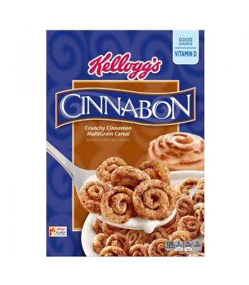 Kellogg's Cinnabon Crunchy Cinnamon Multigrain Cereal 9oz (255g)  Breakfast & Cereals Kellogg's
