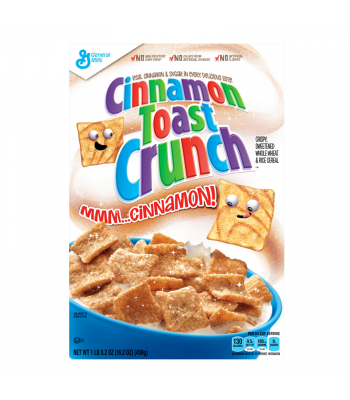 Cinnamon Toast Crunch Cereal Family Size 574g  Food and Groceries General Mills