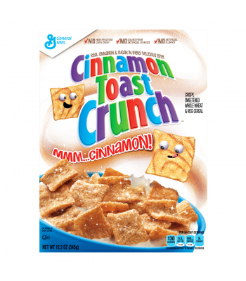 Cinnamon Toast Crunch Cereal - 12oz (340g) Food and Groceries General Mills