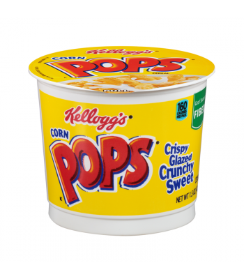 Kellogg's Cereal Cup Corn Pops 1.5 oz (42g) Breakfast & Cereals Kellogg's