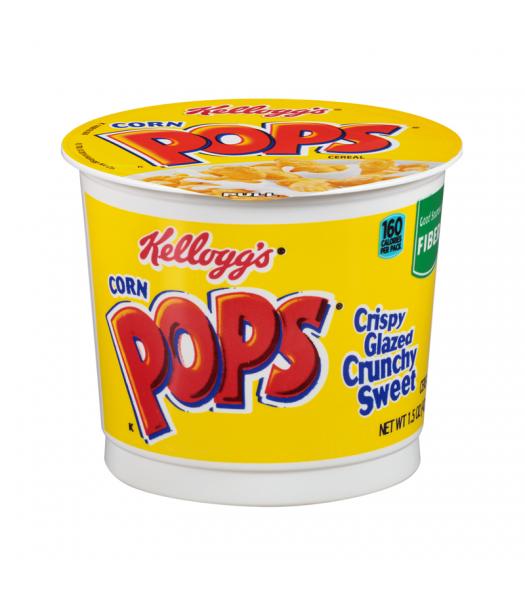 Kellogg's Cereal Cup Corn Pops 1.5 oz (42g) Breakfast & Cereals Kellogg's