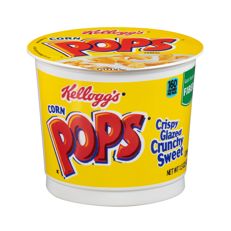 Kellogg's Cereal Cup Corn Pops 1.5 Oz (42g)