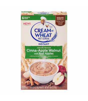 Cream Of Wheat Instant Cinna-Apple Walnut 7.38oz (210g) Food and Groceries