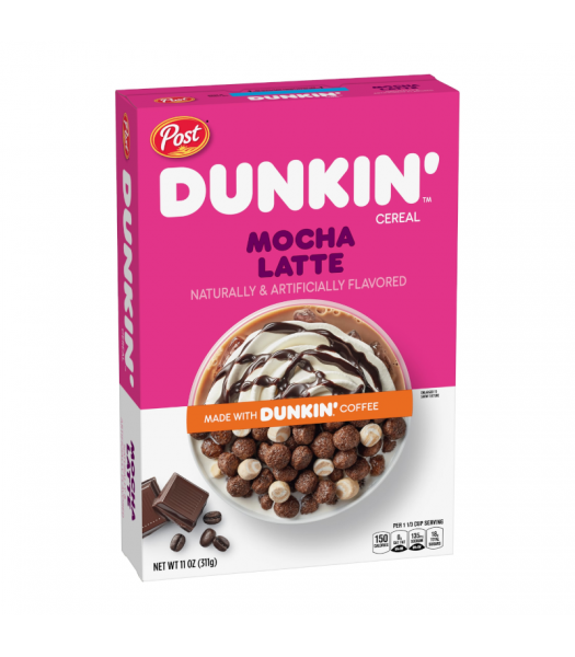 Dunkin' Mocha Latte Cereal - 11oz (311g) Food and Groceries Dunkin' Donuts