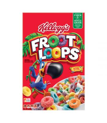 Kellogg's Froot Loops 12.2oz (345g) Breakfast & Cereals Kellogg's