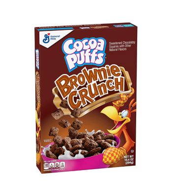 Cocoa Puffs Brownie Crunch Cereal - 10.4oz (294g) Food and Groceries General Mills