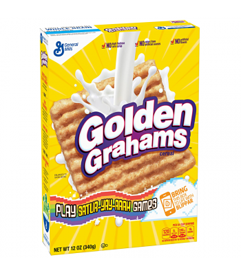 General Mills - Golden Grahams Cereal - 12oz (340g) Breakfast & Cereals General Mills