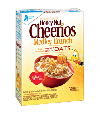 Honey Nut Cheerios Medley Crunch - 13.1oz (371g) Food and Groceries Cheerios