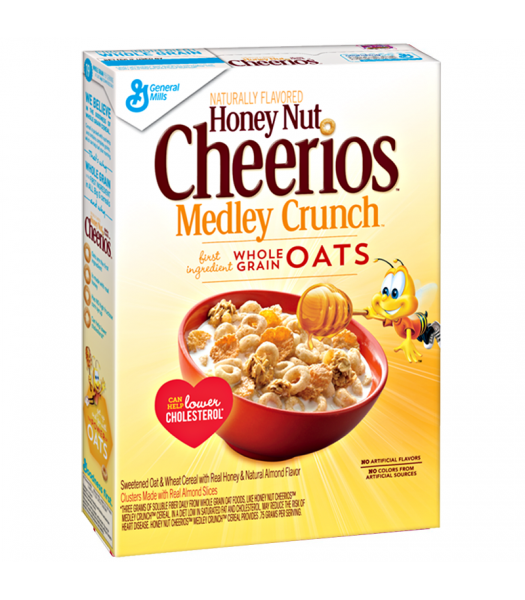 Cheerios Honey Nut Medley Crunch - 13.1oz (371g) Food and Groceries Cheerios