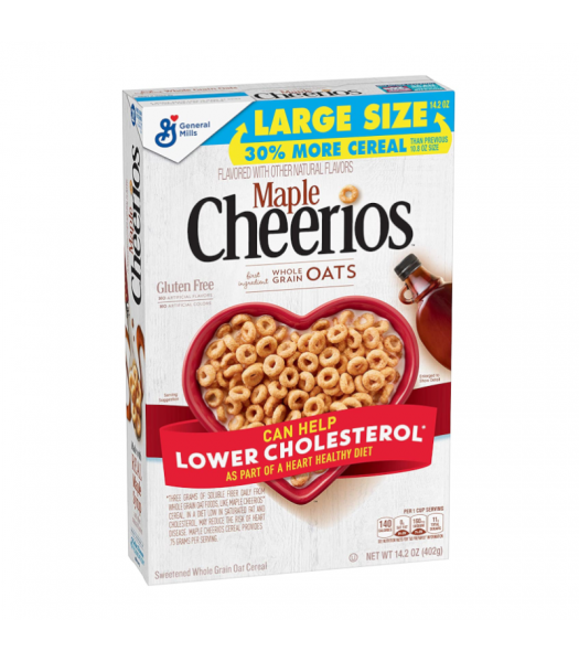 General Mills Maple Cheerios Cereal - 14.2oz (402g) Food and Groceries General Mills