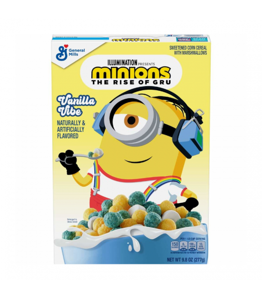 General Mills Minions Vanilla Vibe Cereal - 9.8oz (227g) Food and Groceries General Mills