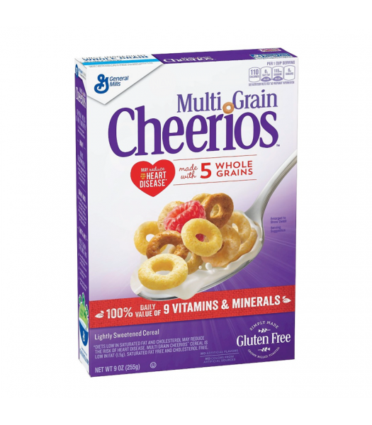 General Mills Multi Grain Cheerios Cereal - 9oz (255g) Food and Groceries General Mills