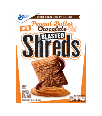 Peanut Butter Chocolate Blasted Shreds 23.2oz (657g) Food and Groceries General Mills