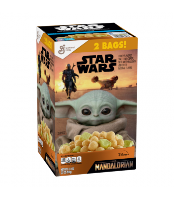 Star Wars The Mandalorian Cereal GIANT Box - 33oz (935g) Food and Groceries General Mills