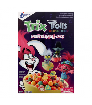 General Mills Trix Trolls with Marshmallows - 9.7oz (274g) Food and Groceries General Mills