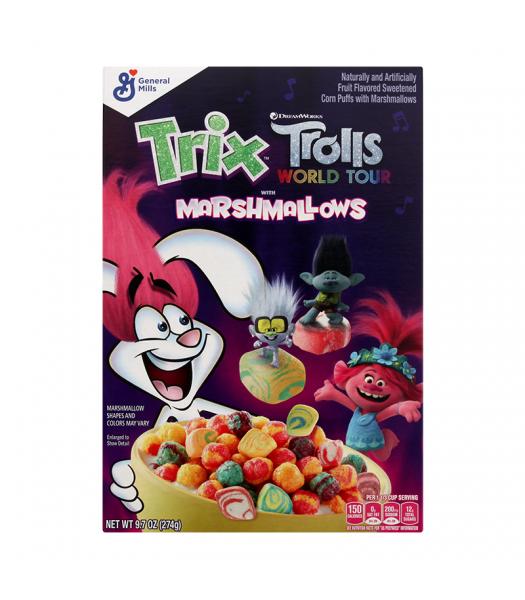 General Mills Trix Trolls with Marshmallows - 9.7oz (274g) Food and Groceries General Mills