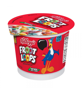 Kellogg's Froot Loops Cereal Cup - 1.5oz (42g) Food and Groceries Kellogg's