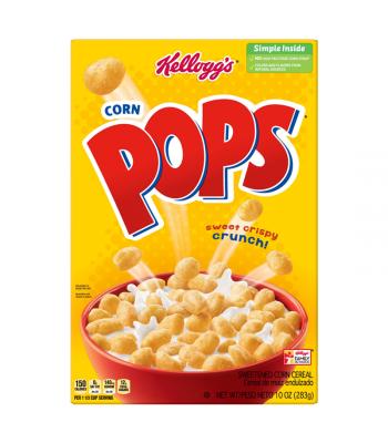 Kellogg's Corn Pops Cereal - 10oz (283g)  Food and Groceries Kellogg's