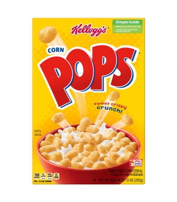 Kellogg's Corn Pops Cereal 9.2oz (260g)  Breakfast & Cereals Kellogg's