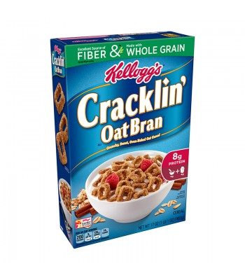 Kellogg Cracklin' Oat Bran Cereal - 17oz (482g) Food and Groceries Kellogg's