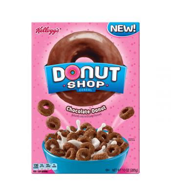 Kellogg's Donut Shop Chocolate 10oz (283g)