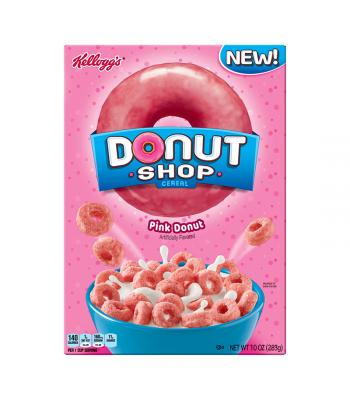 Kellogg's Donut Shop Pink 10oz (283g)
