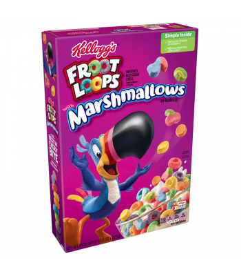Kellogg's Froot Loops Marshmallows - 10.5oz (297g) Food and Groceries Kellogg's