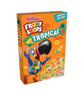 Kellogg's Froot Loops Tropical - 10.1oz (286g) Food and Groceries Kellogg's