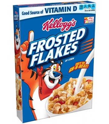 Kellogg's Frosted Flakes 10.5oz (298g)  Breakfast & Cereals Kellogg's
