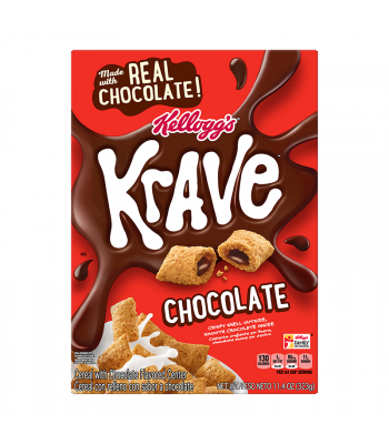 Kellogg's Krave Chocolate Cereal 11.40oz (323g) Food and Groceries Kellogg's