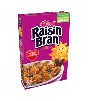 Kellogg's Raisin Bran Cereal -  LARGE BOX 16.6oz (470g) Food and Groceries Kellogg's