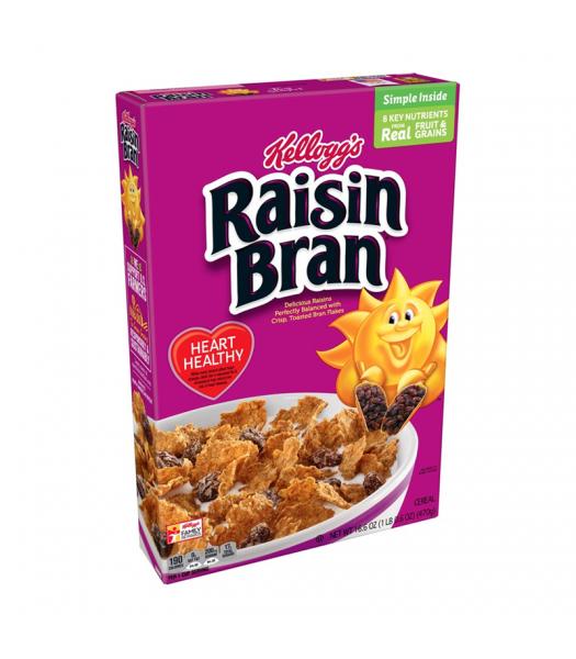 Kellogg's Raisin Bran Cereal -  LARGE BOX 16.6oz (470g) Food and Groceries Kellogg's