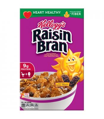 Kellogg's Raisin Bran Cereal 13.7oz (388g) Breakfast & Cereals Kellogg's