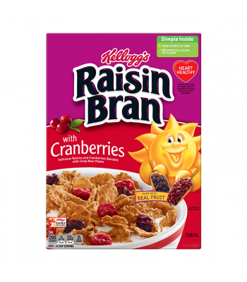 Kellogg's Raisin Bran With Cranberries - 14oz (396g) Food and Groceries Kellogg's