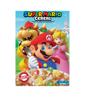 Kellogg's Super Mario Cereal 8.4oz (238g)